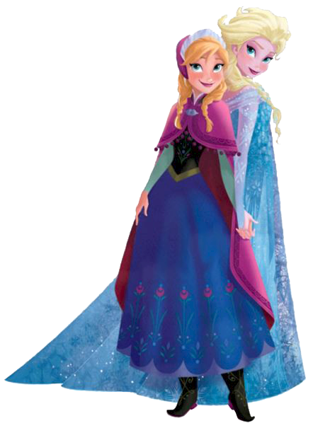 Frozen Ana And Elsa Clip Art Is It For PARTIES