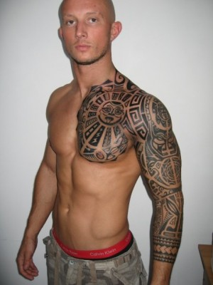 tattoo sleeve ideas for men a tattoo which covers men half sleeve area