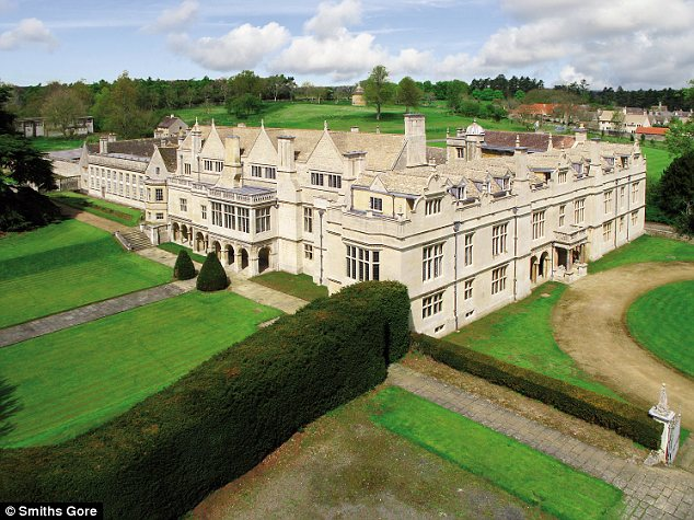 Homes Of The Rich And Famous One Massive English Mansion