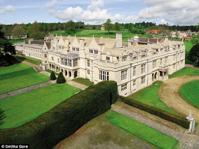 Homes of the rich and famous one massive english mansion for Massive homes for sale