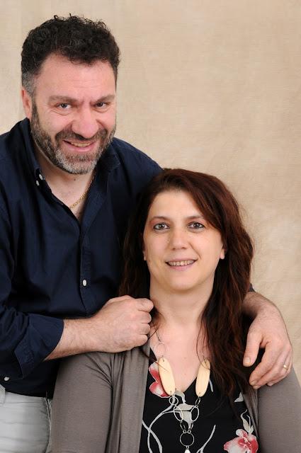 Chef Marco Di Dedda e Daniela Fogli