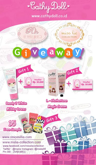 Cathy Doll Giveaway