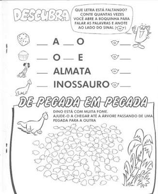 Atividades para imprimir e colorir com a letra D