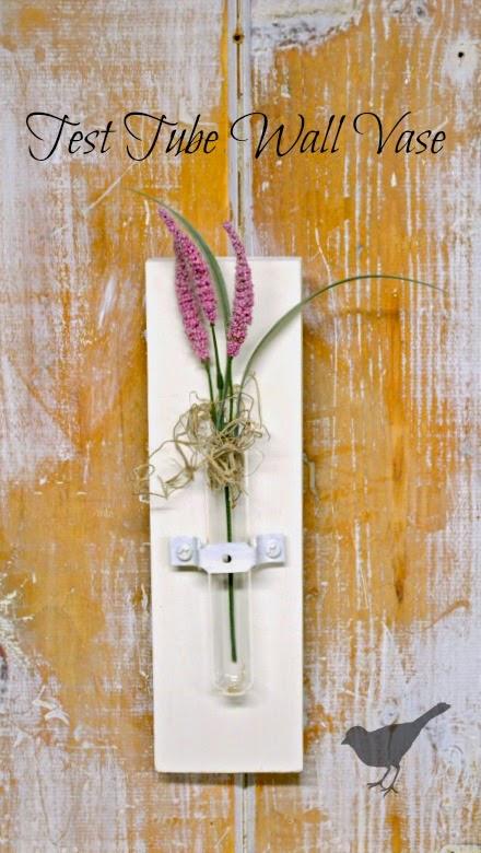Test Tube wall vase www.homeroad.net