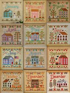 Kalendarz z domkami.