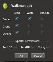 cara instal walkman apk di android