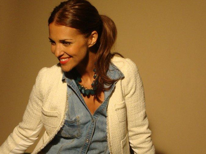 Paula Echevarría para Blanco otoño invierno 2011