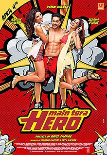 Main Tera Hero (2014) 3gp, MP4, AVI