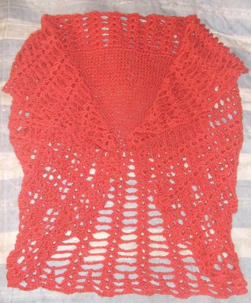 Chaleco Circular Crochet