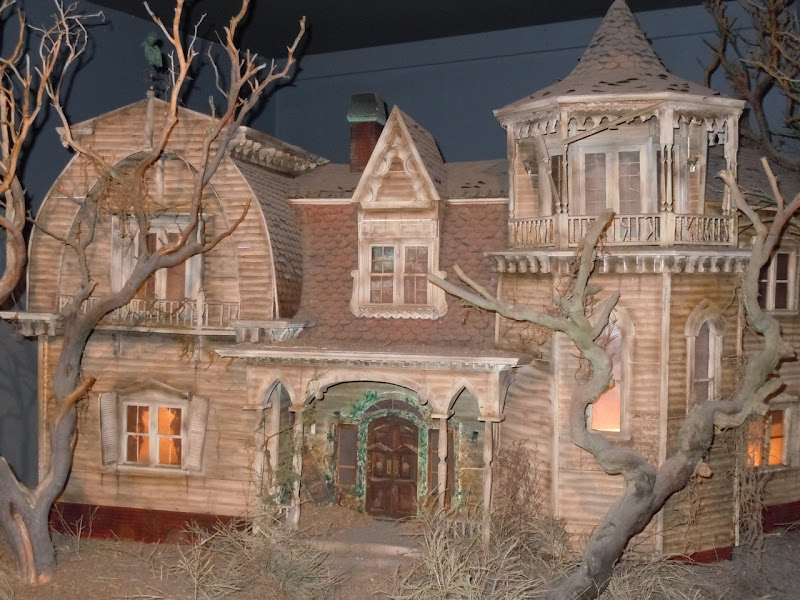 The Munsters home TV production miniature