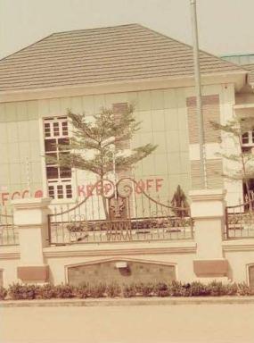 EFCC seals off estate belonging to former Chief of Army Staff, Gen. Ihejirika