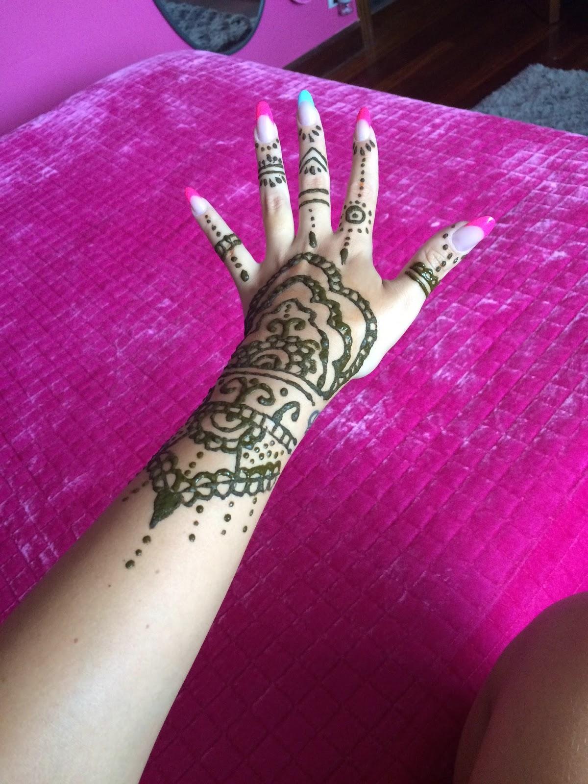 Tal Como SOY Tatuaje De Henna
