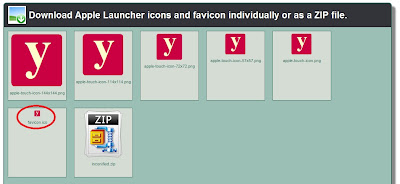 Creating the favicon