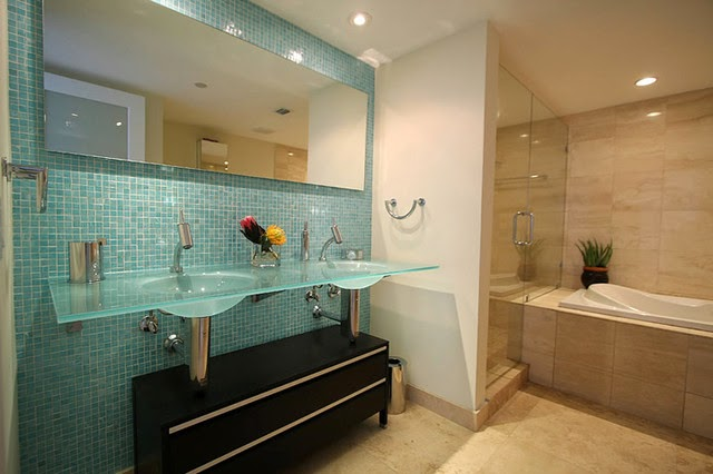 glass tile for your bathroom