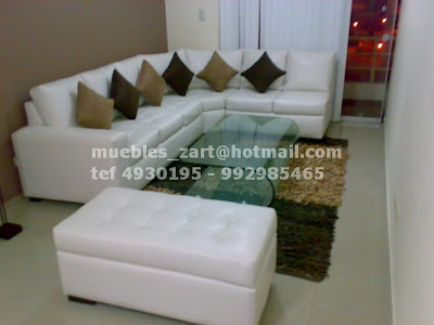 muebles modernos sala peru