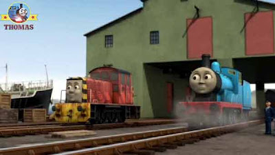 Shiver my timbers me Treasure Island pirate friend harties train salty the dockyard diesel engine