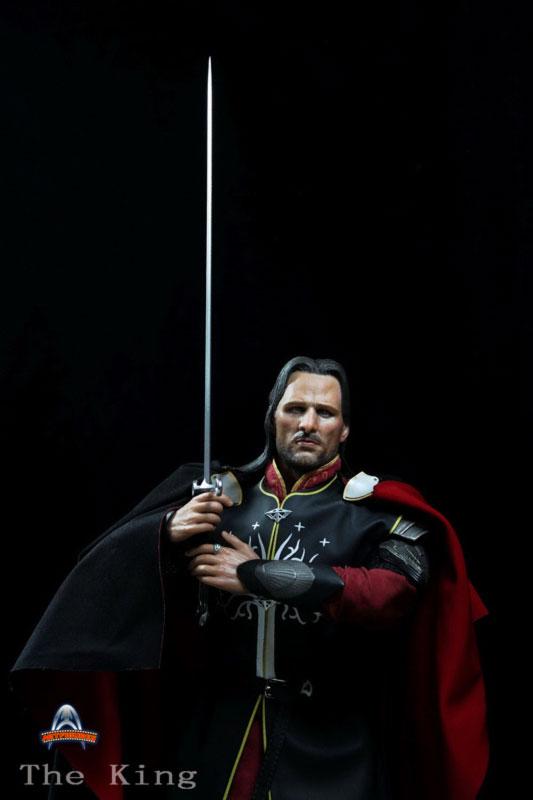 [ART-FIGURES] The King OR LOTR 1/6 Aragorn King of Gondor 12-inch Figure King-007