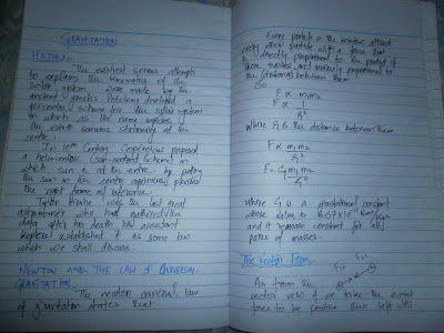 Notes of physics class 9 in english