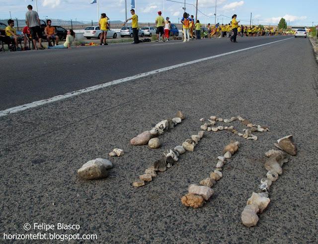 Via Catalana cap a la Independència a les Terres de l'Ebre