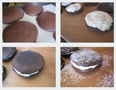 2Whoopie pie vanille chocol Whoopie pie à la vanille chocolat