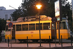 Vagón de tren en Triana.