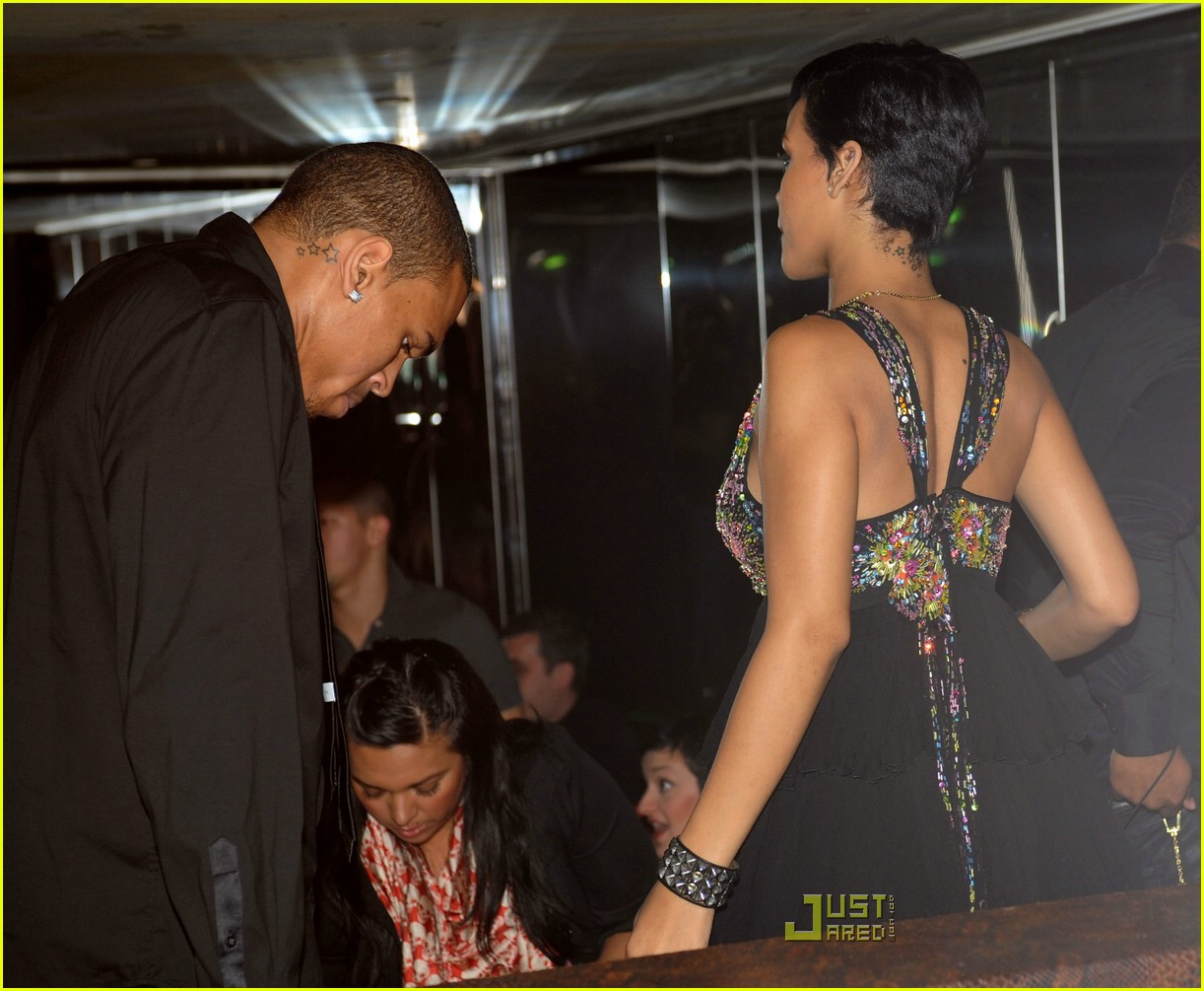 chris brown and rihanna 'it's horseplay' chris brown puts his hands around woman's neck – nine years after rihanna assault – but insists it's 'horseplay.