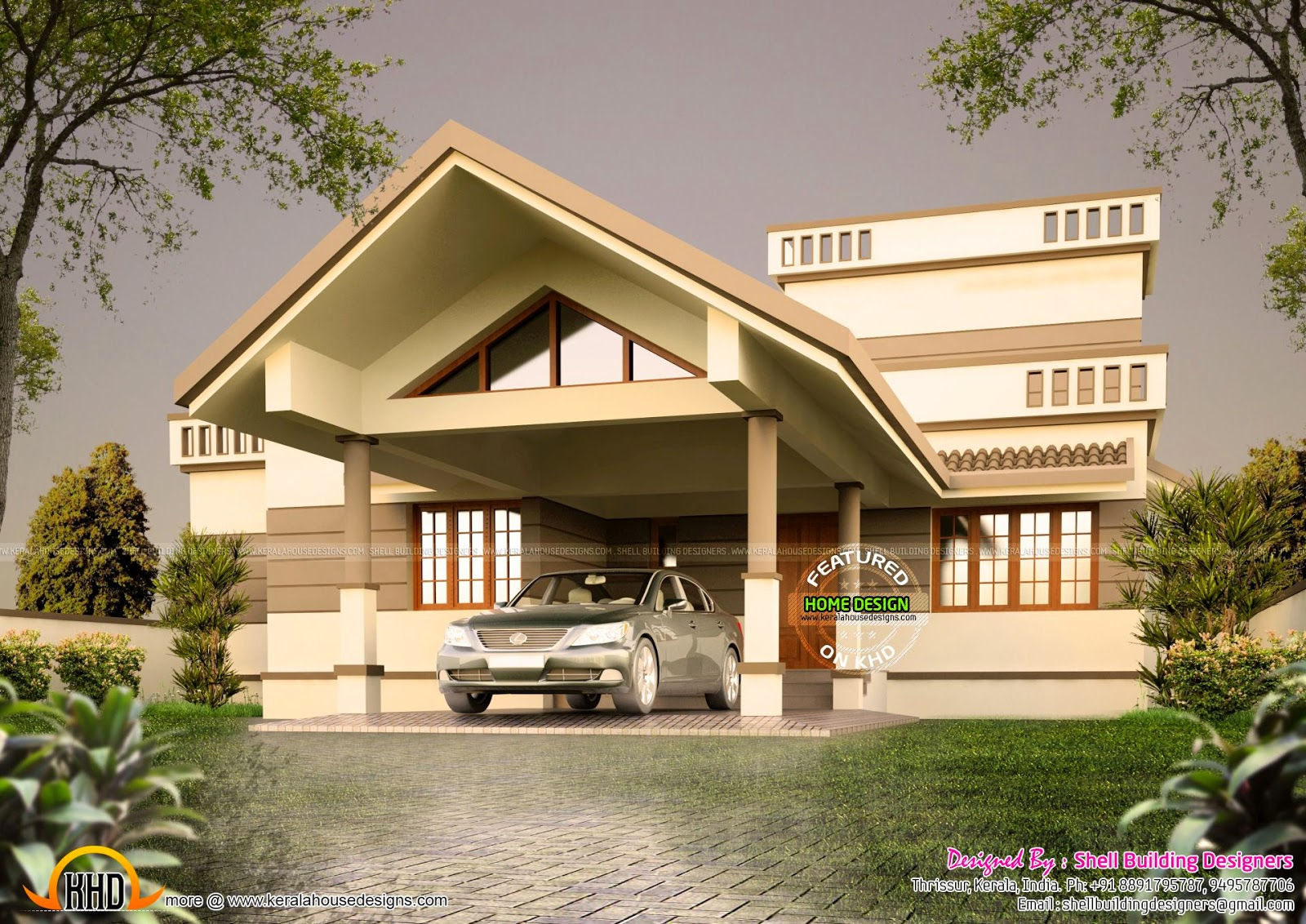 india vastu compatible house kerala home design and