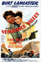 Portada película El valle de la venganza