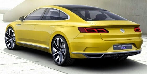VW C Coupe Concept GTE Proven Stay Classy in Shanghai