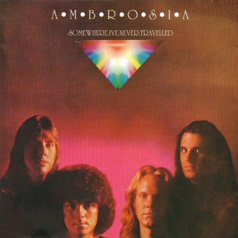 """""""Ambrosia"""" foi um quarteto fundado em Los Angeles, EUA. Os membros da banda são """"David Pack"""" (guitarra/vocal), """"Joe Puerta"""" (baixo/vocal), """"Christopher North"""" (teclado), e """"Burleigh Drummond"""" (Bateria). O som é basicamente uma fusão do rock sinfônico com a arte do som pop. O grupo foi descoberto em 1971 pelo maestro """"Zubin Mehta"""" da Orquestra Filarmônica de Los Angeles, que caracterizou a banda como parte de um """"concerto ideal para cativar os norte-americanos"""". Entretanto, o grupo passou por avaliações por quatro anos para começar um contrato de gravação; A banda foi aprovado em 1975 onde gravaram seu primeiro álbum auto-intitulado, o álbum foi produzido e desenvolvido pelo lendário """"Alan Parsons"""", e contou com o top hit """"Holdin' on to Yesterday"""", assim como o clássico nas rádios FM """"Nice Nice, Very Nice"""". Essa última foi baseado em """"Kurt Vonnegut"""", berço do gato de Jr. Após uma longa turnê, a banda retornou em 1976 com o álbum """"Somewhere I've Never Travelled"""", também produzido e projetado por """"Parsons"""". Esse álbum rendeu a canção-título, que rapidamente se tornou uma favorita nas rádios, mas a melhor noticia nem era essa, os dois primeiros álbuns receberam indicações ao Grammy e preparou o terreno para a assinatura da banda com a gravadora """"Warner Bros Records"""". """"Ambrosia"""" marcou época também em 1977 com um cover da música """"Magical Mystery Tour"""" dos Beatles, a partir do filme """"All This and WWII"""" sobre a 2ª guerra mundial, onde eles também aparecem. Em 1978, eles lançam pela a """"Warner Bros"""", o álbum """"Life Beyond L.A."""" que fez sucesso com a música """"How Much I Feel"""", assim como a primeira faixa rock """"Life Beyond L.A."""". Uma extensa turnê com """"Fleetwood Mac"""" e """"Doobie Brothers"""", além de outros grandes shows na integra, cimentou a reputação da """"Ambrosia"""" na industria da musica. Em 1980, a """"Warner Bros"""" lançou """"One Eighty"""", um LP que produziu dois dos maiores sucessos do ano, """"You're the Only Woman"""" e """"Biggest Part of Me"""". Apesar da carreira sucedida, uma turnê mundial co"""