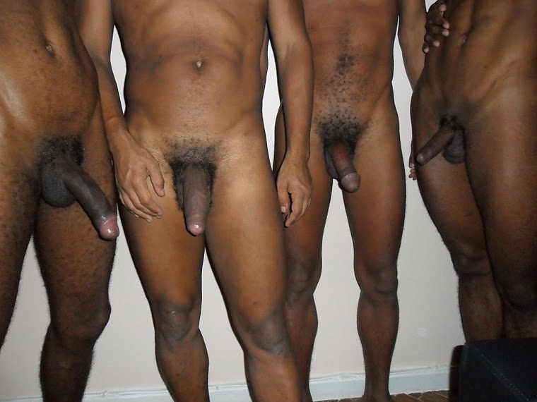 Straight Naked Black Guys