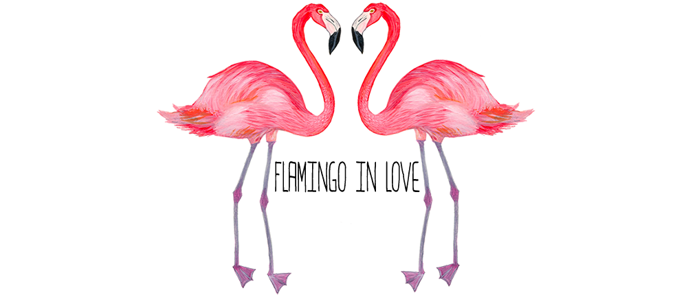 FLAMINGO IN LOVE