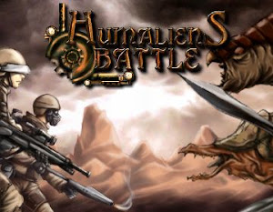 Flash-игра Humaliens Battle