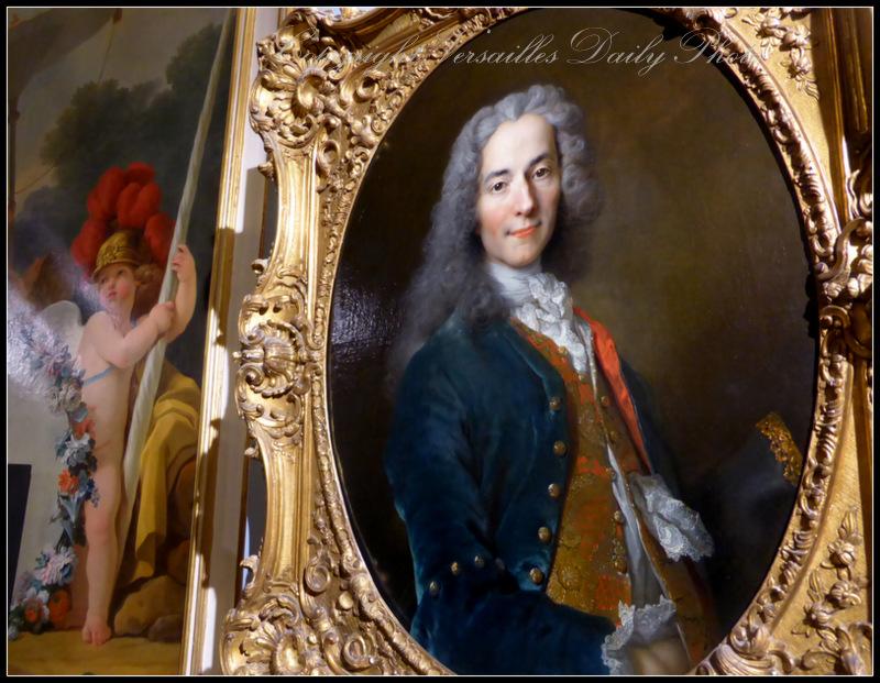 Voltaire par Largillière