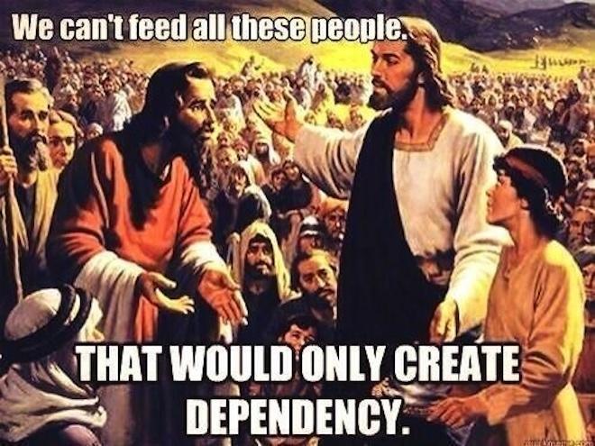 Republican Jesus 2 - (Class Warfare)