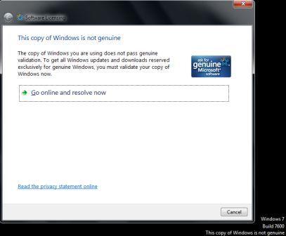 Resolve Windows 7