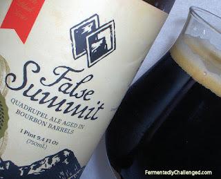 False Summit Quadrupel close-up