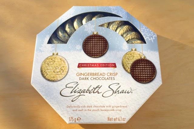 Elizabeth Shaw - Gingerbread Crisp - Dark Chocolates