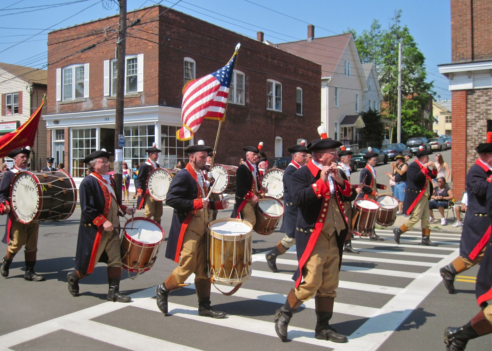 View from the valley derby shelton memorial day parade draws huge mattatuck drum band from waterbury performs in mondays parade malvernweather Choice Image