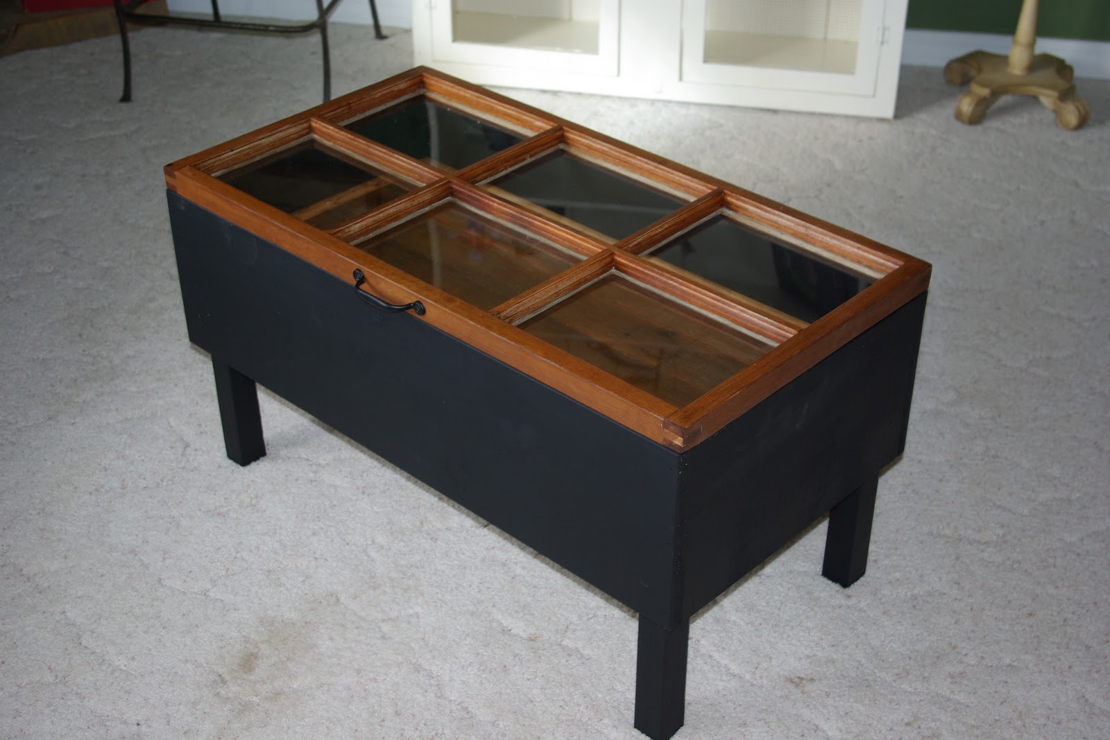 Hinged Window Coffee Table