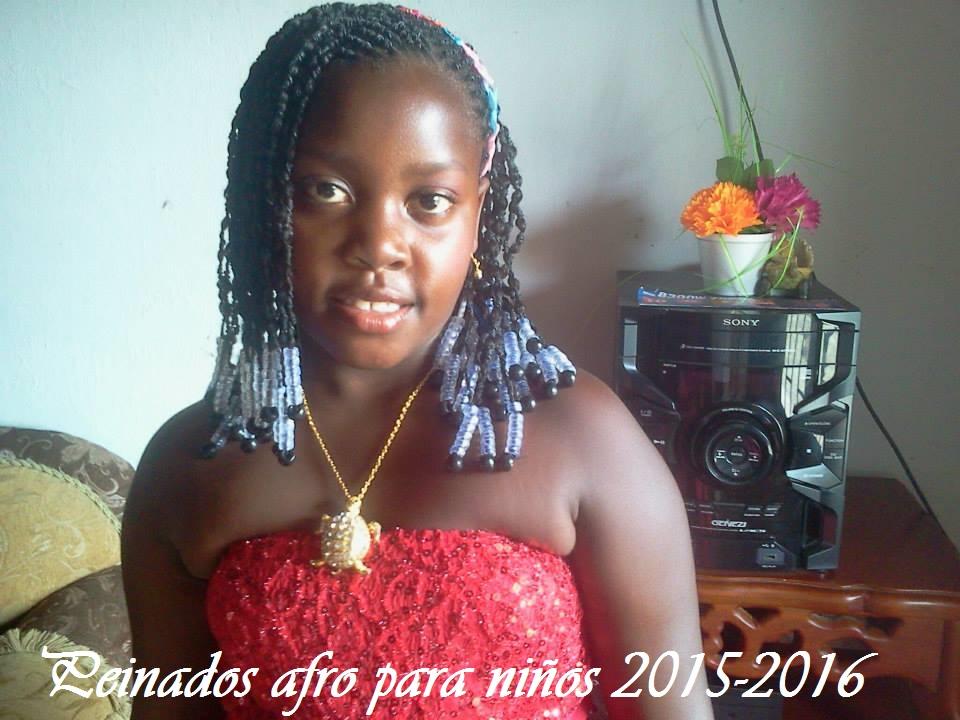 Cortes De Cabello Afro Para Ninos Peinados Novias