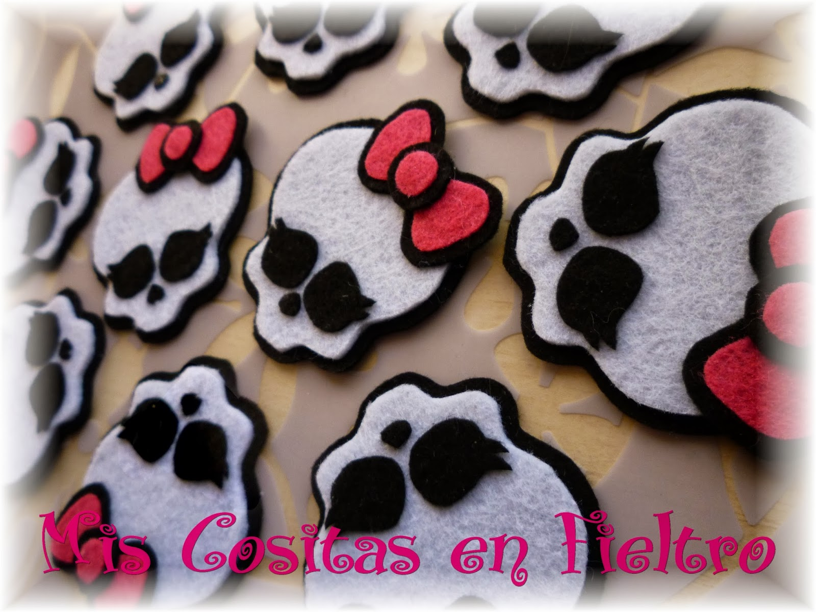 monster high, calavera, broche, adorno, diadema