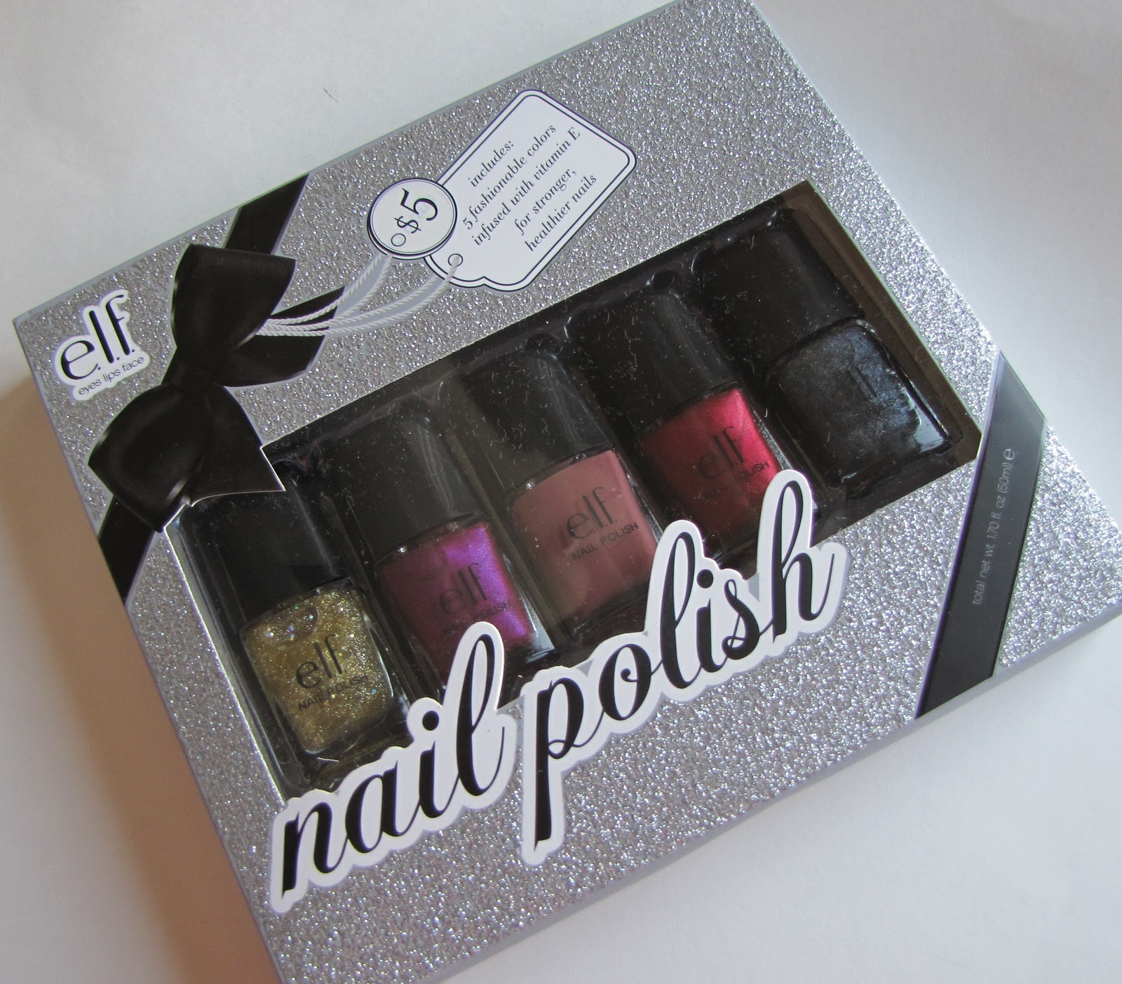 Artful Beauty: Diaries of a Makeup Addict: e.l.f. Holiday Nail ...