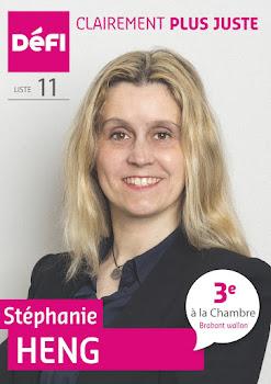 Déléguée consulaire française - Candidate à la Chambre, élections fédérales belges 26/05/19