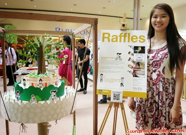 Green Dessert, Tokyo Street Earth Month, raffles college, Mother Nature, Art exhibition, pavilion kl, recycle material, recycle art
