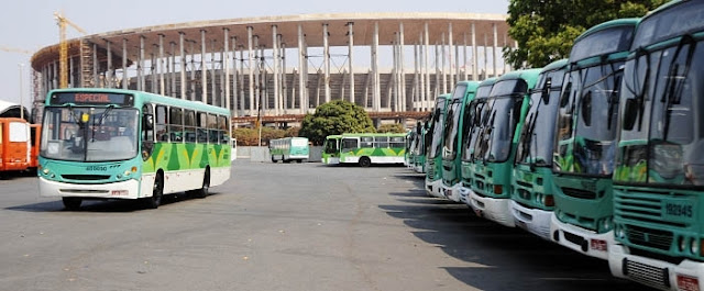 GDF divulga resultado da fase de habilitação da licitação do transporte