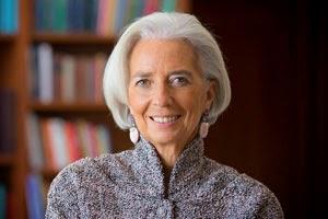 Lagarde è stata prima donna ministra di un paese del G8 e ora capo del FMI