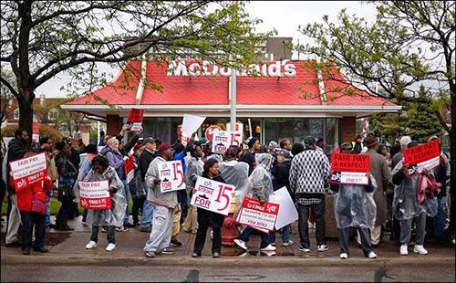 McDonald's Protestors