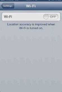 wifi greyed out di 4s