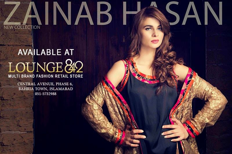 Latest Winter Royal Dresses 2015 by Zainab Hasan